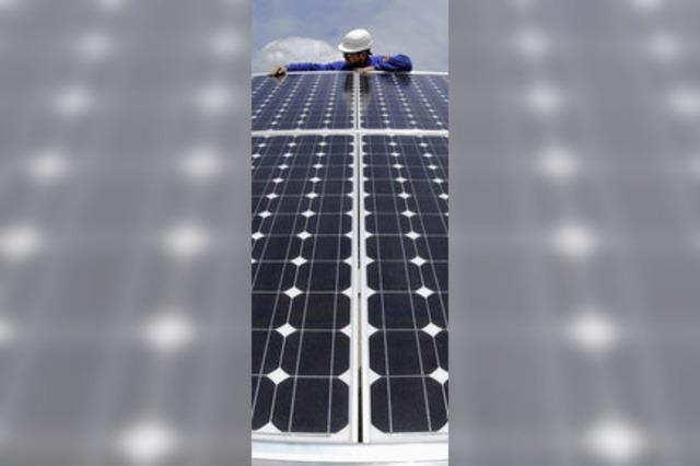 Zusatzschichten bei der Solar-Fabrik