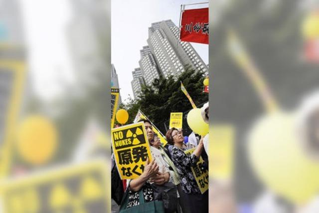 Viele Japaner befürworten Atomausstieg