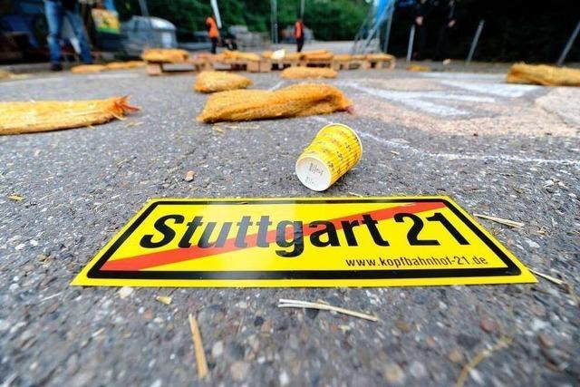 S21: Verdächtiger nach Attacke gegen Polizisten gefasst