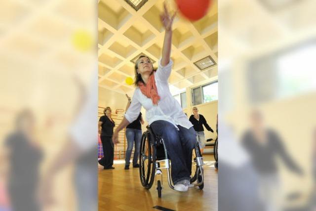 Respekt vor dem Rollstuhl