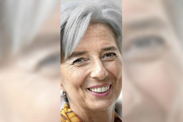 Lagarde wird Chefin des IWF