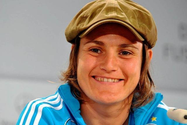 Nadine Angerers 100. Länderspiel