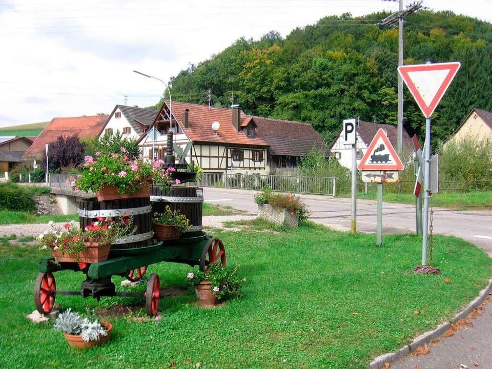Auf halbem Weg zwischen Kandern-Wollba... Hammerstein: Rüttehof und Winzerstube  | Foto: Markus Maier