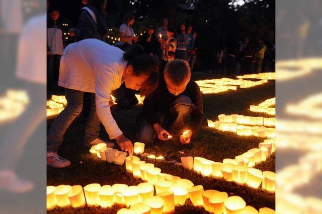 Lahrer Lichterfest fasziniert 8000 Besucher