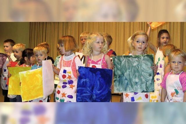 Ein Kindergarten, der trotzdem entstand