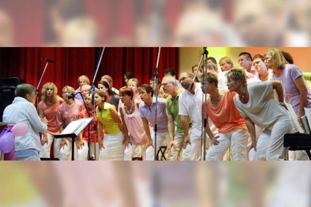 Ein bunter Chor mit Esprit, Fantasie und Sangeskunst