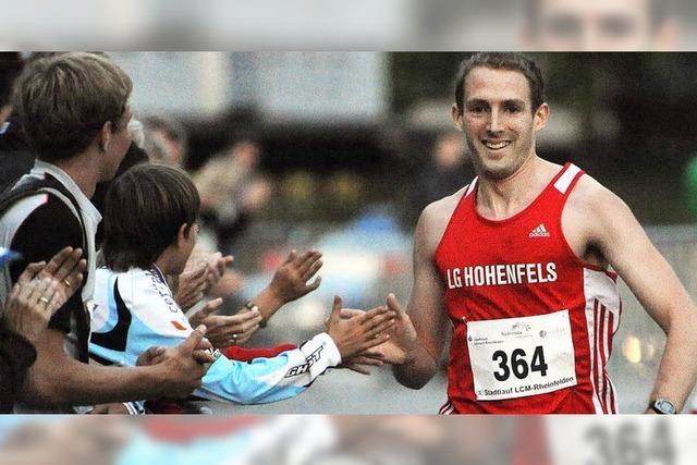 Jürgen Hilpert gewinnt den Stadtlauf