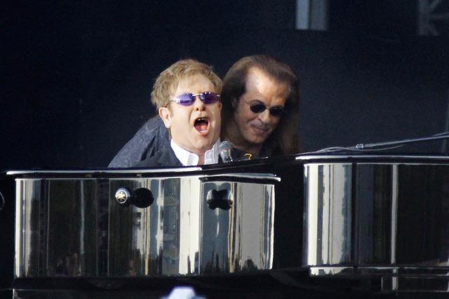 Elton John: Open-Air-Konzert in Freiburg