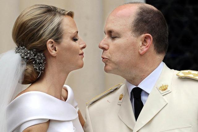 Fürstenhochzeit: Falscher Kuss, echte Tränen