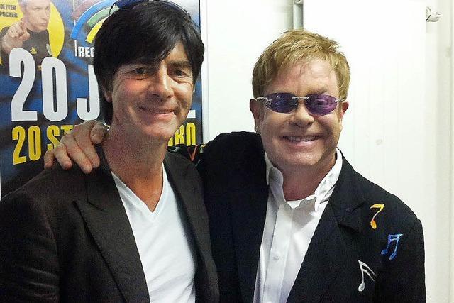 "Elton John: ""Thank you for coming, Joackim Low"""