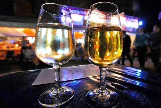 Ein Blick hinter die Kulissen des Weinfestes in Freiburg