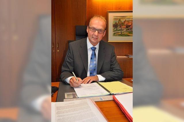 Brandsatz-Attrappe auf Rickenbachs Bürgermeister