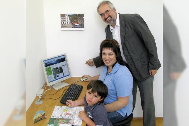 Internet-Lounge im Rathaus