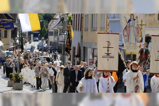 Die Pfarrgemeinde feiert
