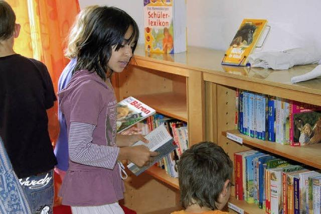 Lesekompetenz soll gefördert werden