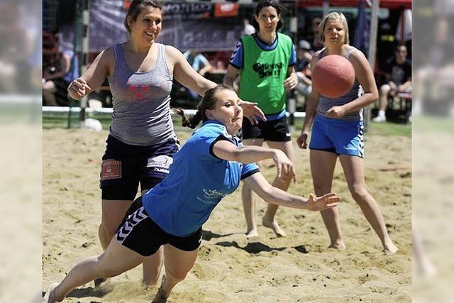 35. Handballtage in Zähringen. Sommer, Sonne, Sandkasten