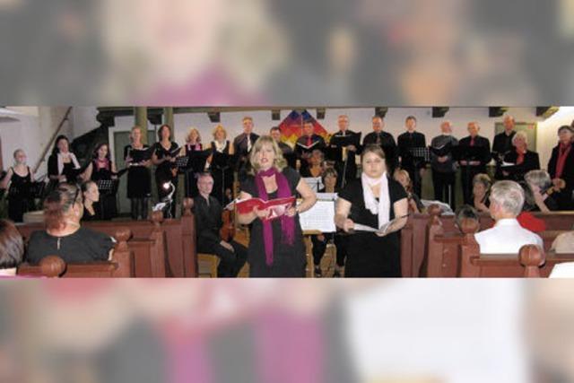Barocker Klang trifft temperamentvollen Gospelsound