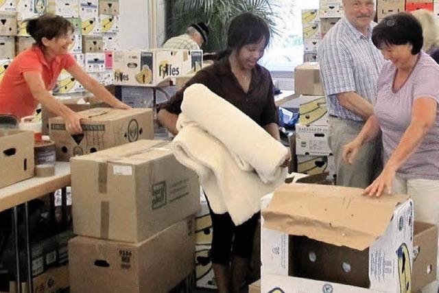8,5 Tonnen geballte Hilfe