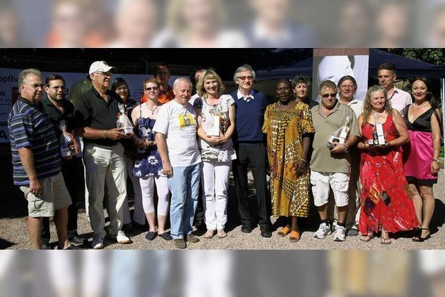 Golfspieler lindern Patienten-Handicap in Togo