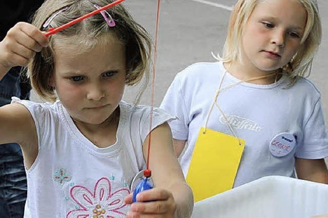 Kinder wurden Samstag spielerisch gefordert