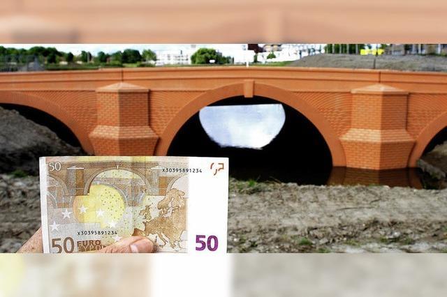 Brücken wie auf den Euroscheinen