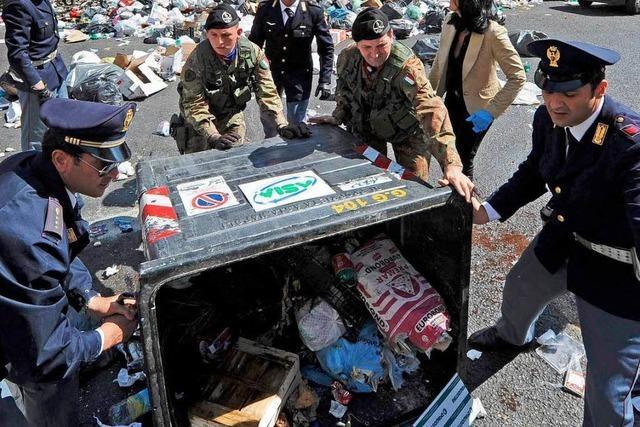 Neapel und der Müll: Die Sache stinkt zum Himmel