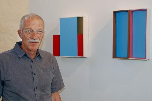 Urs Hanselmann zeigt Kunst der abstrakten Poesie
