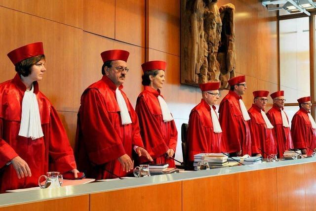 Bundesverfassungsgericht behandelt Klage gegen den Euro-Rettungsschirm