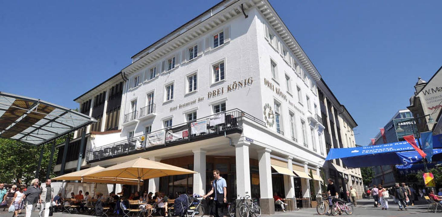 Alles Drei König: neues Hotel, neues Restaurant, neue Bar  | Foto: Barbara Ruda