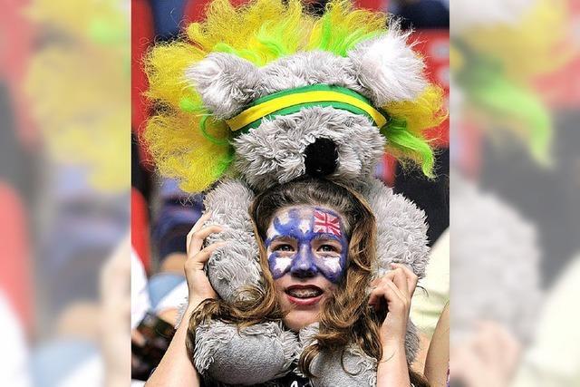 Australien stürmt ins Viertelfinale