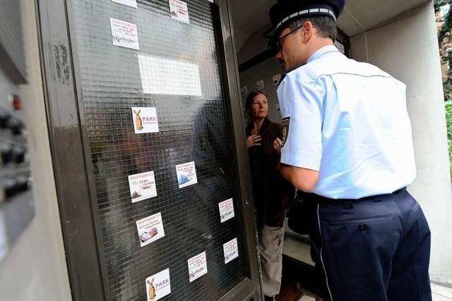 Polizei geht gegen Stuttgart-21-Gegner vor