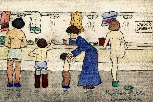 Kinderbilder aus dem KZ Theresienstadt