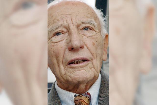Walter Scheel wird 92 - Genscher und Rösler kommen