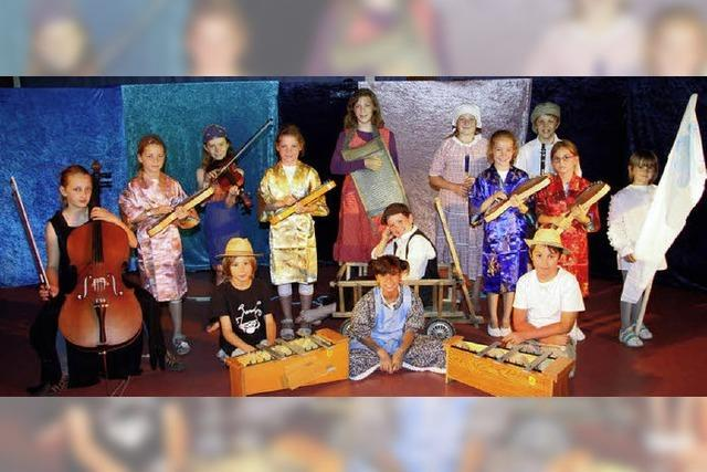 Kinder machen Musiktheater