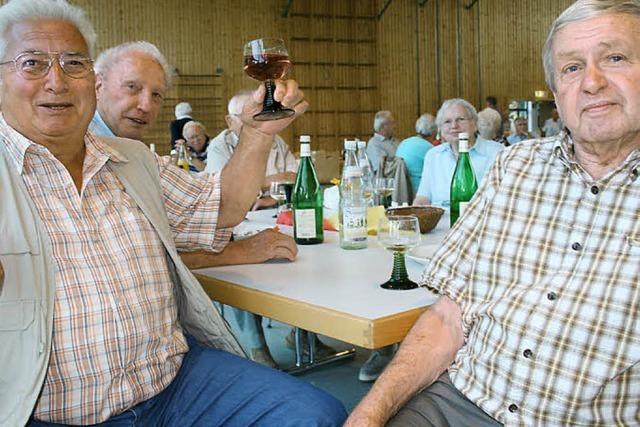 Senioren auf froher Fahrt