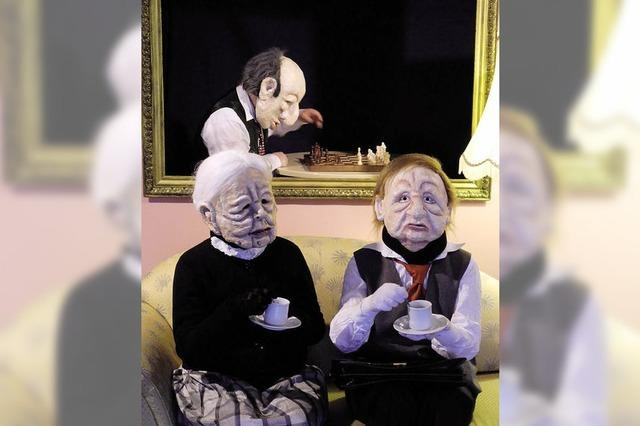 Ein besonderes Maskentheater