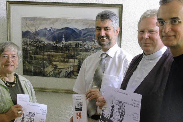 Kirchenbilder Wehrer Künstler aus 80 Jahren