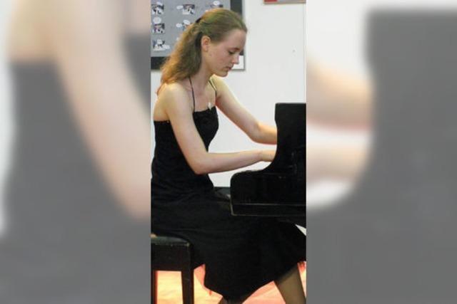 Junge Musikerin mit gestalterischer Reife
