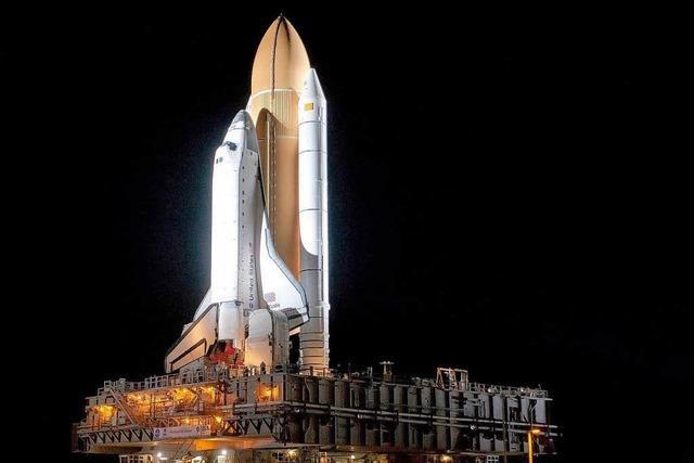Der letzte Countdown für das Space Shuttle