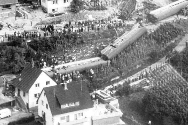 40 Jahre nach dem Zugunglück in Rheinweiler - Gedenkfeier