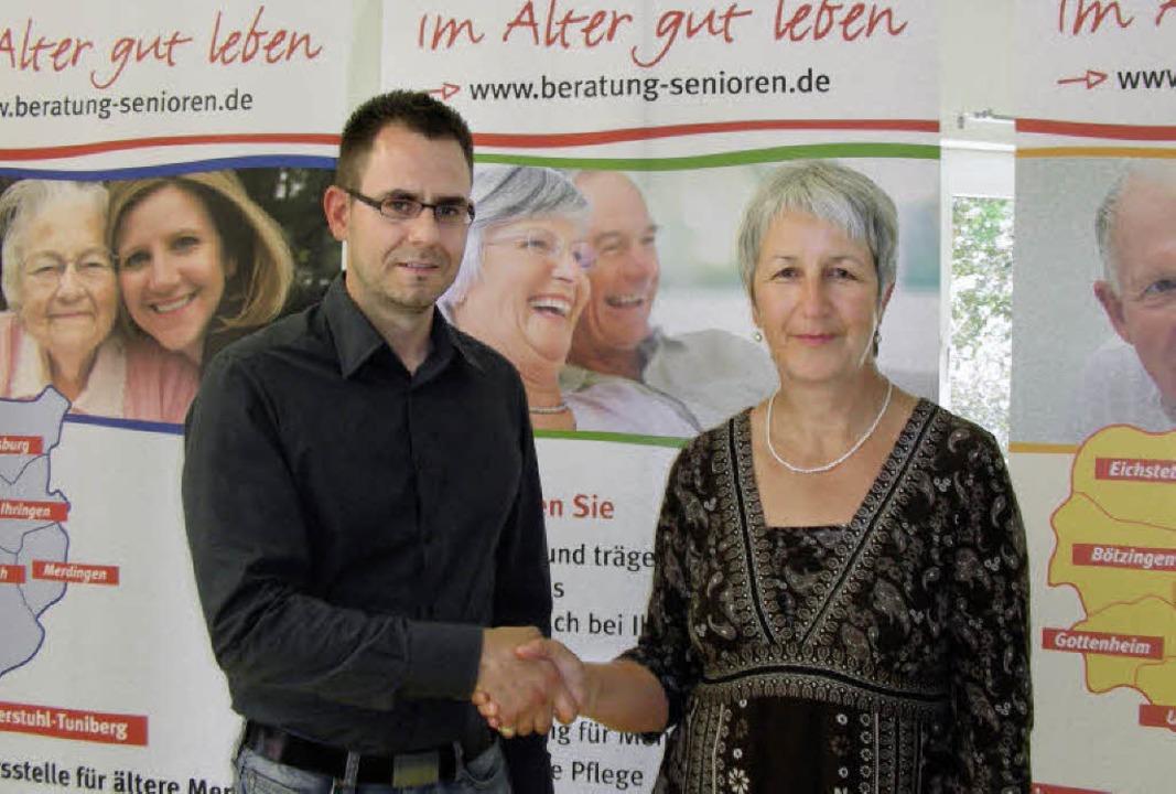 Nachfolgerin von Markus Rauh als Leite...-Tuniberg ist Hadwig Storch (rechts).   | Foto: mario schöneberg