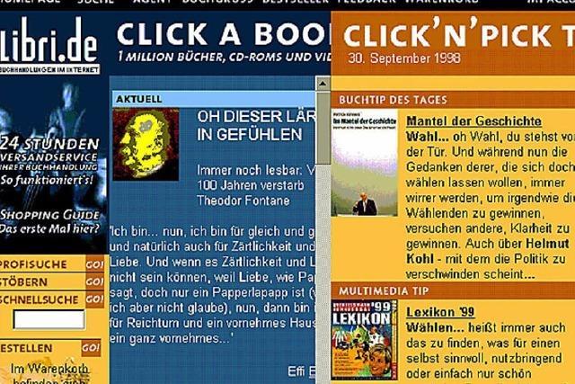Gedrucktes per Click