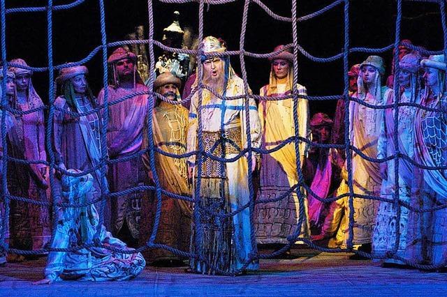 Statistenrolle bei Nabucco