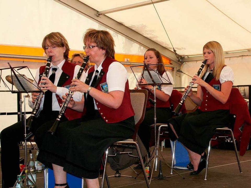 Der Musikverein Raitbach umrahmte den Festakt musikalisch    Foto: Marlies Jung-Knoblich