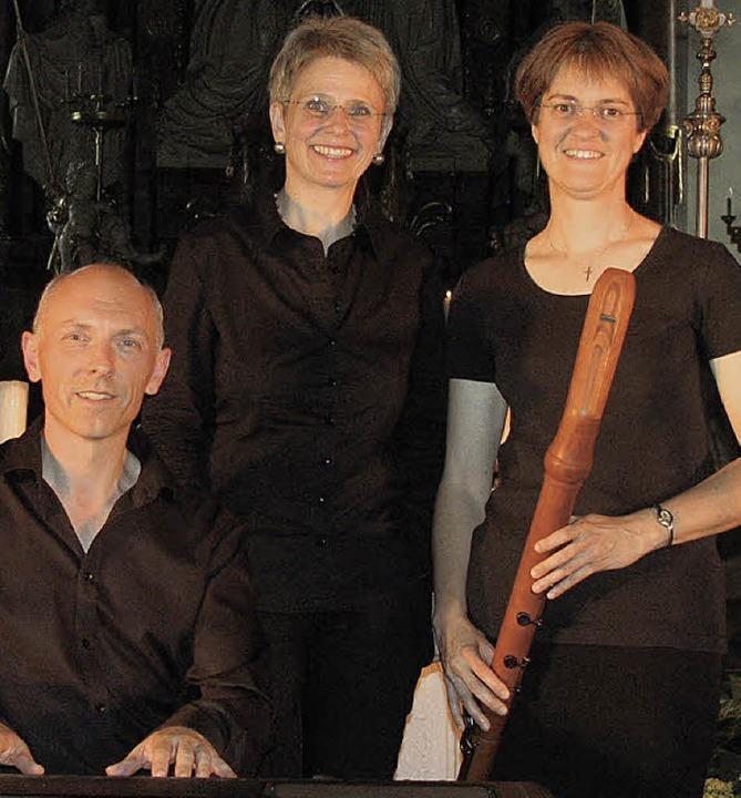 Das Ensemble Entzücklika mit Alexander... am Samstag in der St.-Martins-Kirche.  | Foto: gottstein