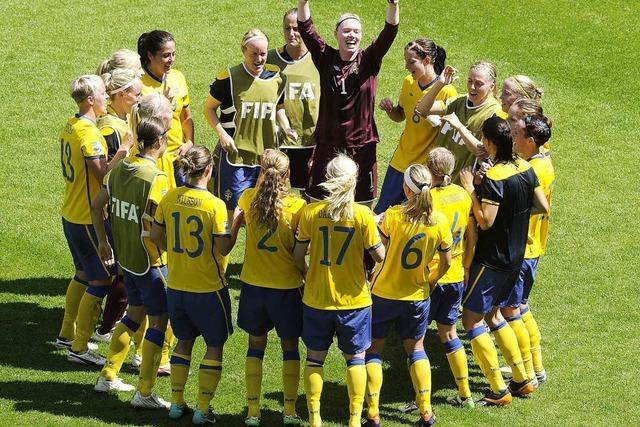 Schweden tanzt ins Halbfinale