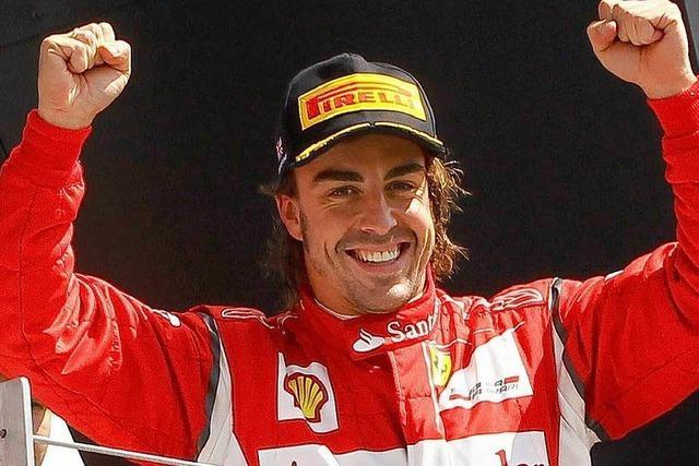 Silverstone: Nur eine Panne kann Vettel bremsen