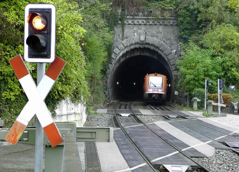 Die technischen Problem einer Elektrif...nsteintunnel – scheinen lösbar.     Foto: Saskia Baumgartner