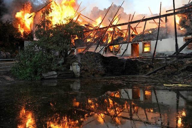 Heißer Rasenmäher könnte Brand ausgelöst haben