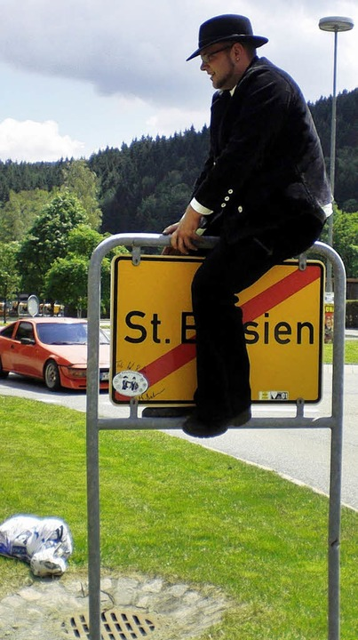 Matthias Brodmann wird das St. Blasier... Jahre nicht mehr aus der Nähe sehen.   | Foto: privat